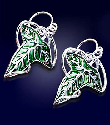 Lord of the Rings The Fellowship Earrings Sterling Silver .925