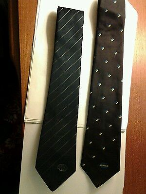 United Transport Company Official Neck Ties (2) 1980s