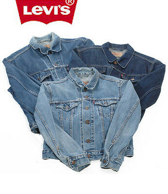 Vintage Levi's Denim Jacket Trucker Jean Mens Womens Xxs Xs S M L Xl Xxl