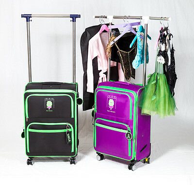 Rolling Dance bag with Rack by Rack Monsters
