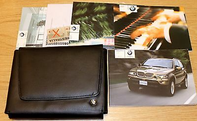 Bmw X5 Series E53 Facelift Handbook Owners Manual Wallet 2003–2006 T1782
