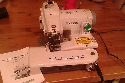 Tysew Portable Industrial Blind Stitch Hemmer/Hemming Sewing Machine NEW!