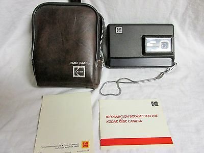 VINTAGE 1980s KODAK DISC 6000 CAMERA WITH MANUAL AND ORIGINAL CASE