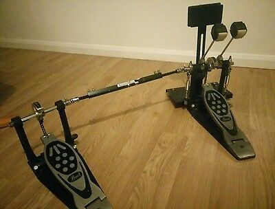 Pearl Powershifter Double Bass Drum Pedal + Portable Practice/Warm up pad