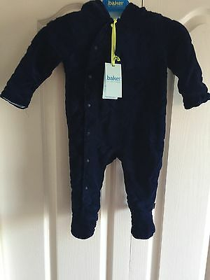 TED BAKER BABY BOYS SNOW SUIT. AGE 6-9 MONTHS. BNWT. Designer