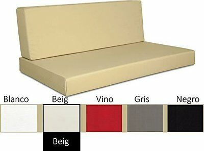 Sofa chill out ( asiento + respaldo ) con tejido impermeable