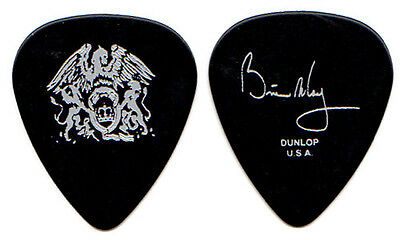 QUEEN Guitar Pick : 2000s Tour - Brian May signature silver black