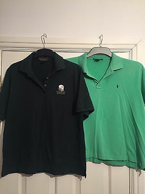 Set Of Two Golf Polo Shirts