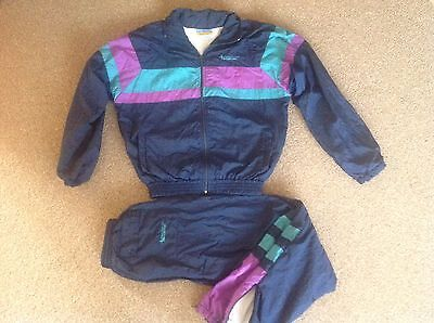 "Vintage""Rare"" Trakman Classic Shell Suit junior (32) VGC.uk post only"