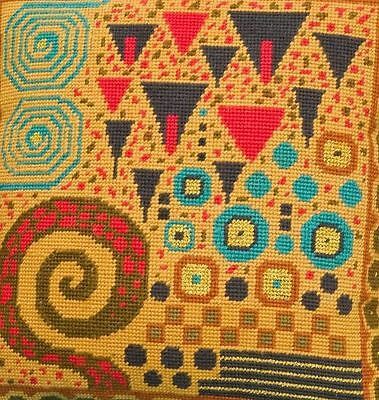 Ehrman Designer Candace Bahouth KLIMT TOFFEE Tapestry Needlepoint  Chart only