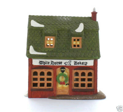 Dept 56 Dickens Village ~ White Horse Bakery ~ Mint In Box 59269