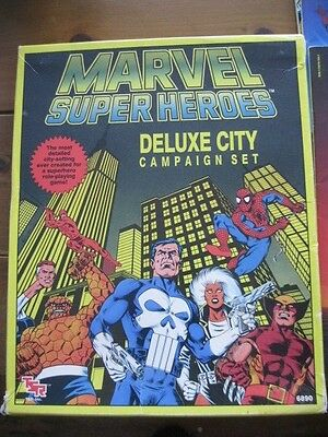 Marvel Super Heroes Deluxe City Campaign Set 1989 TSR 6890