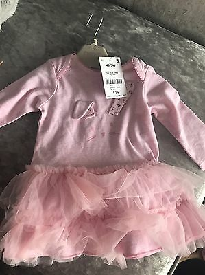 Next Baby Girl Dress 0-3 Months