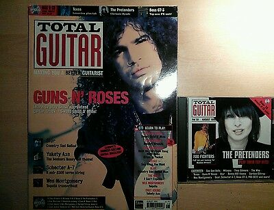 Total guitar magazine and CD 59 Guns and Roses