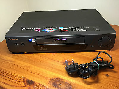 Panasonic NV-SD230B Video Plus video recorder tested ! Made in GERMANY
