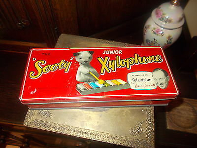 Rare Vintage Retro Junior Sooty Xylophone Harry Corbett WITH MUSIC SHEETS