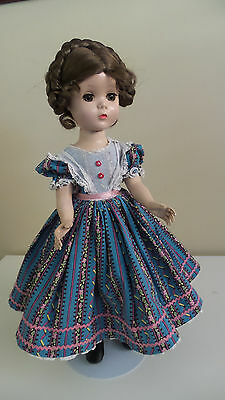 """Vintage Madame Alexander Little Women 15"""" Doll - Slw Redressed Tagged Beth"""
