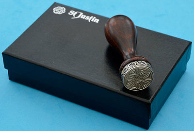 Pewter Celtic Knot Seal by St Justin (boxed with sealing wax)