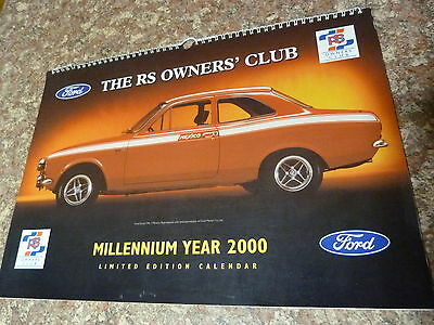 Millenium Ford RS owners Club Calender