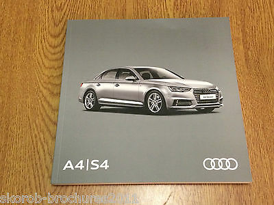 AUDI - The All New A4 & S4 Saloon And Avant Sales Brochure 2017 Edition 2.0.