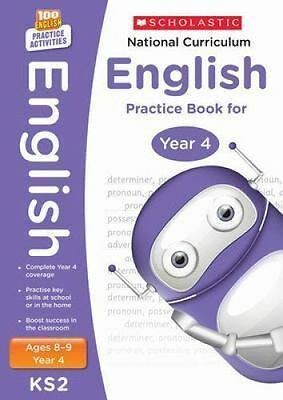National Curriculum English Practice Book for Year 4 by Scholastic