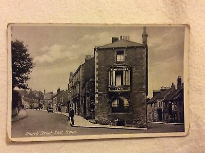 Postcard church street east Frome / Temperance Hotel