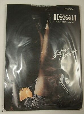 Wolford Satin Opaque Tights Medium Coca 4023 Slightly Imperfect Sheer Hosiery