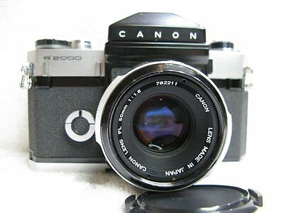 Canon  CANONFLEX R2000  Vintage  35mm Film Camera, Near Mint