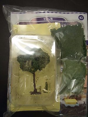Your Model Railway Village Magazine No 62 packs of scatter & a yew tree