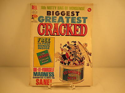 CRACKED MAGAZINE 1973 9th Nutty Bag of Nonsense Issue