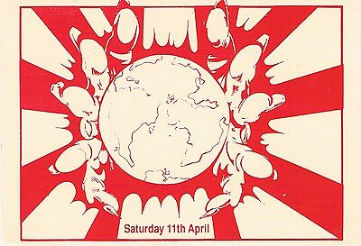 VISION Rave Flyer Flyers year unknown A6 Acid House Rare venue unknown