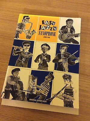 Easy Jazzy Saxophone - James Rae. Tenor And Alto Sax Parts Are Included.