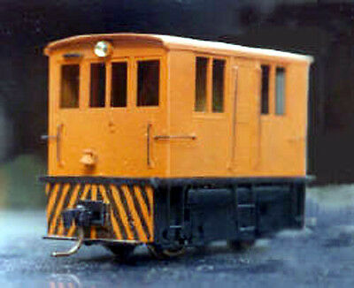 7088 23-Ton Box Cab Diesel HOn3... Powered Kit - HOn3 Narrow Gauge by GrandtLine