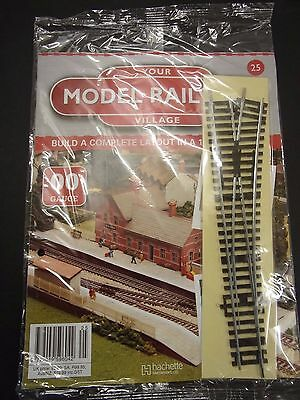 Your Model Railway Village Magazine No 25 Right hand points