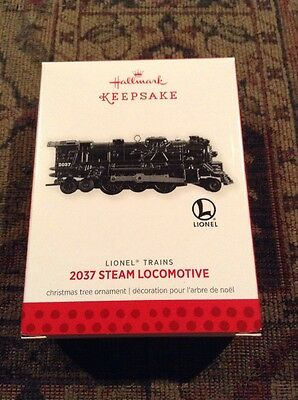 Lionel Train 2013 Hallmark 2037 Steam Locomotive Christmas Ornament Keepsake   *