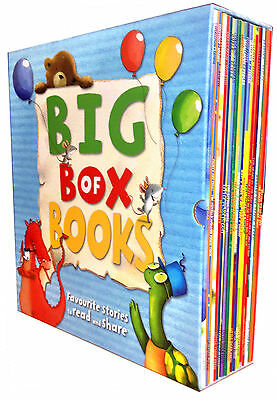 Big Box of Books Collection 20 Books Set Children Reading Bedtime Stories