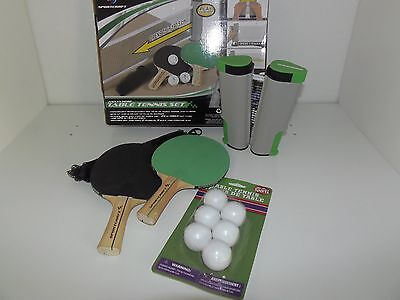 Sportcraft Retractable Anywhere Table Tennis Set,  Free Shipping