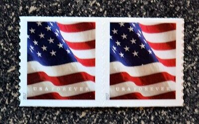 2017USA #5158 Forever U.S. Flag US - Coil Pair  Mint  (BCA)