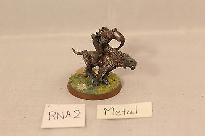 Warhammer Lord of the Rings Warg Rider Metal