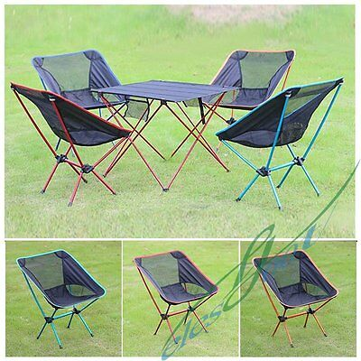Folding Seat Stool Fishing Camping Hiking Gardening Beach Backpack Chair 3 Color