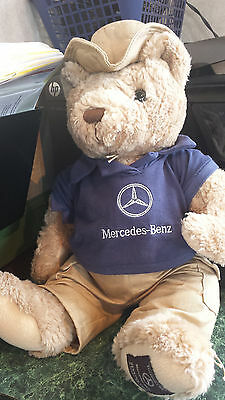 "Herrington Teddy Bear 2005 Exclusively Made for MERCEDES BENZ 17"" PLUSH Khakis"