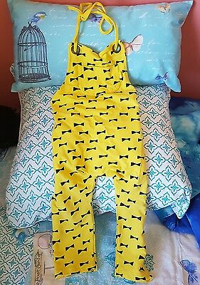 size 4 Ryb Rock your kid overalls