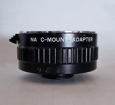 Nikon Leica Olympus Zeiss SLR C-mount Camera Microscope Coupler Adapter