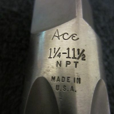 ACE 1 1/4-11 1/2 NPT pipe tap