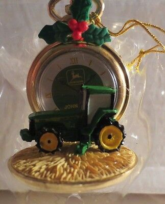 Enesco John Deere Just In Time For Christmas Ornament MIB NRFB #2
