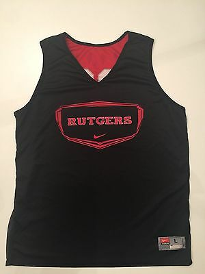 Rutgers Game Worn Nike Basketball Jersey Practice Reversible #23 Large