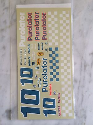 1/24 Darrike Cope 1990 Daytona 500 Winning Decals Nascar By JNJ