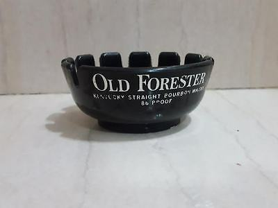 Vintage  ASH TRAY Old Forester  old plastic ashtray eagle sta-saff made in u.s.a