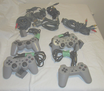 Lot Sale - PS1 Controllers, PS1/2 Cables, Xbox Cables