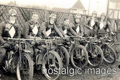 Photo Taken From A 1938-1939 Newcastle Speedway Team